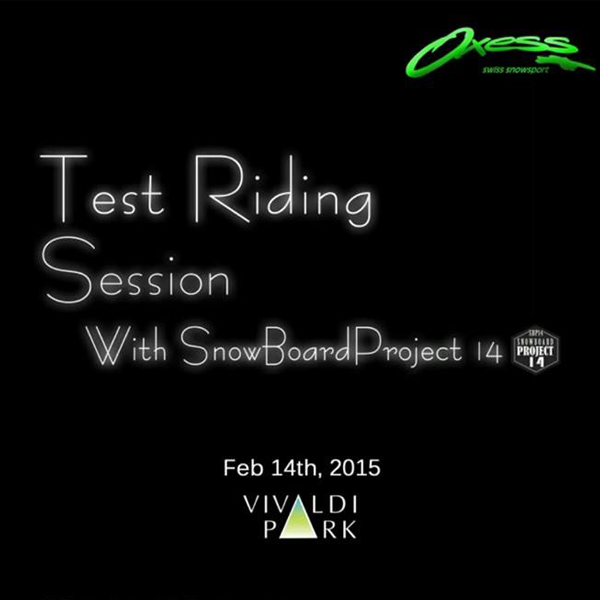 2015-2016  [TEST RIDING SESSION]
